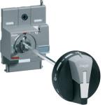 Поворотная рукоятка на аппарат x250, в комплекте с удлиненной осью HZC112 длиной 200 мм, для установки на дверь