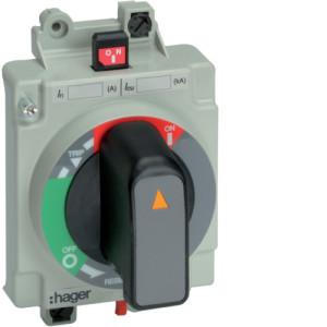 Поворотная рукоятка непосредственно на аппарат h250