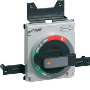 Поворотная рукоятка непосредственно на аппарат h800-h1000