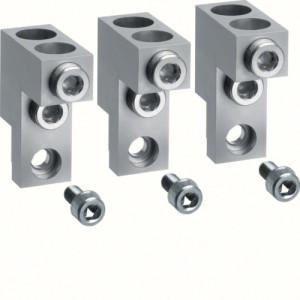 Клеммы для подключения кабелей без наконечников Al/Cu до 630А, 3P h630, до 2х240 мм² (3шт.)