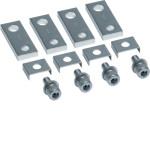 Полюсные наконечники (шинки) удлинительные для h630 на 400А 4 шт., прямые зажимные