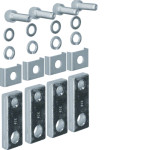 Полюсные наконечники (шинки) удлинительные для h630 на 630А 4 шт., прямые зажимные