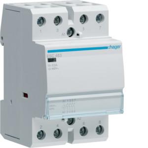 Контактор модульный, 4н.о., AC1/AC7a 63A, Uупр.=230В 50/60Гц