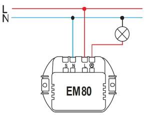 Схема EM80