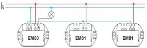 Схема EM80+EM81