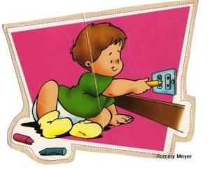 Proteggere i bambini dalle prese elettriche