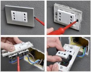 aggiungere una presa elettrica